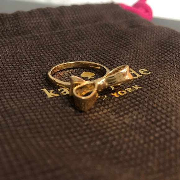 Kate Spade Bow Ring - Size 6